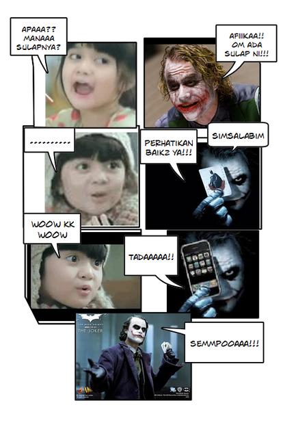 Cerita Lucu Komik Afika Oreo Main Sulap! Sempoaaaaa!!!