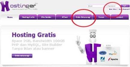 Panduan Lengkap Cara Membuat Website / Blog Mudah dan Gratis Hanya Dalam 15 Menit!!! (2/6)