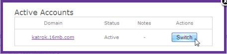 cara membuat website idhostinger-switch-account