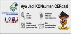 Konsumen Cerdas Paham Perlindungan Konsumen - Banner